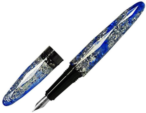 Benu Briolette Blue Frost Fountain Pen