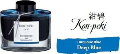 Bottled Ink Iroshizuku Deep Blue (konpeki)