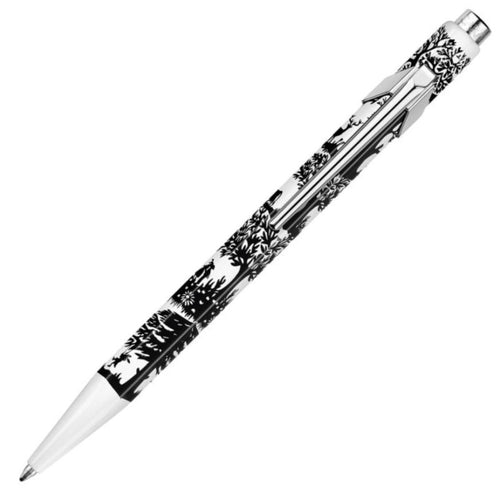 Caran d'Ache 849 Swiss Cut-Up Paper Ballpoint Pen