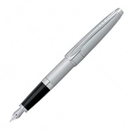 Cross Apogee Brushed Chrome Fountain Pen