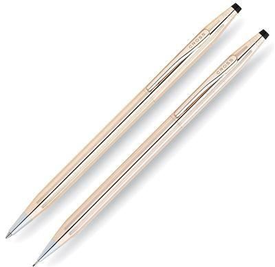 Cross Classic Century 14Kt Gold Filled Rolled Gold Ballpoint Pen and 0.7mm Pencil Set