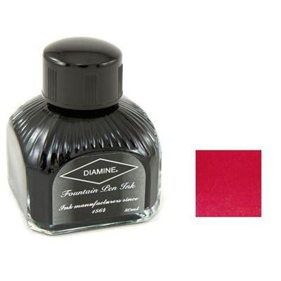 Diamine Bottled Ink 80ml Classic Red