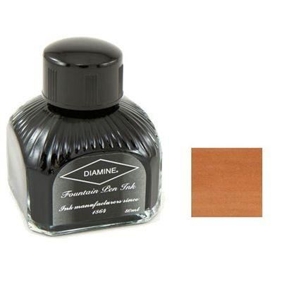 Diamine Bottled Ink 80ml Dark Brown