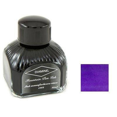 Diamine Bottled Ink 80Ml Imperial Purple - Refills