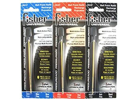 Fisher Refill Fine Point, Universal, Carded