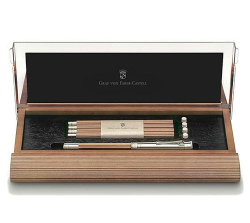 Graf von Faber-Castell Perfect Pencil Desk Set Brown