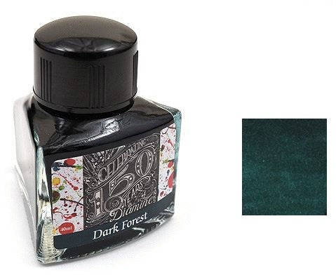 Diamine Bottled Ink 150th Anniversary 40ml Dark Forest