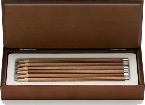 Graf von Faber-Castell Perfect Pencil No. III Desk Pencils in wood box (12/bx)