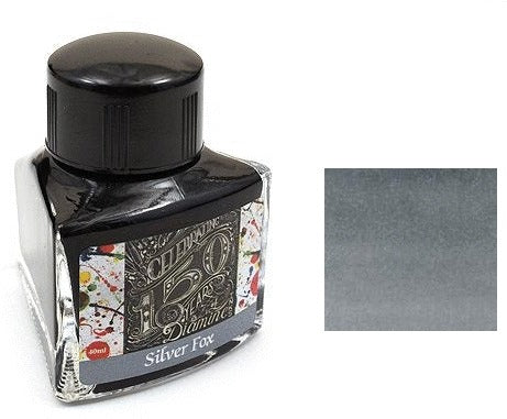 Diamine Bottled Ink 150th Anniversary 40ml Silver Fox
