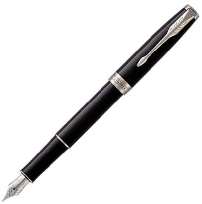 Parker Sonnet Black Lacquer CT Fountain Pen