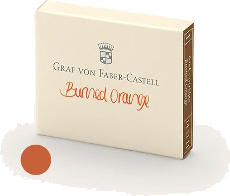 Refill Faber-Castell Burned Orange Ink Cartridges