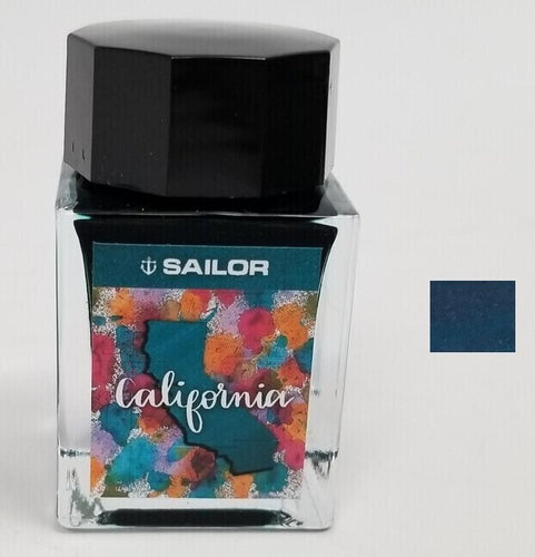 Bottled Ink Sailor U.S. States - California