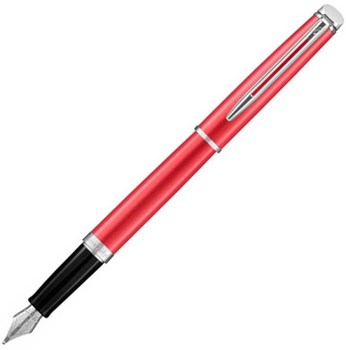 Waterman Hemisphere Deluxe Coral Pink Fountain Pen | Pen Place