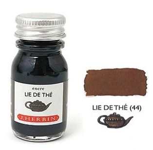 J Herbin Bottled Ink Lie De The - 10ml