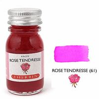 J Herbin Bottled Ink Rose Tendresse - 10ml