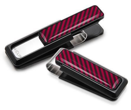 M-Clip Black UV2 w/Black & Crimson Money Clip