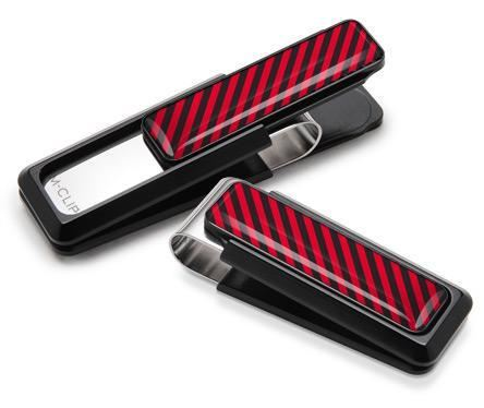 M-Clip Black UV2 w/Black & Red Money Clip