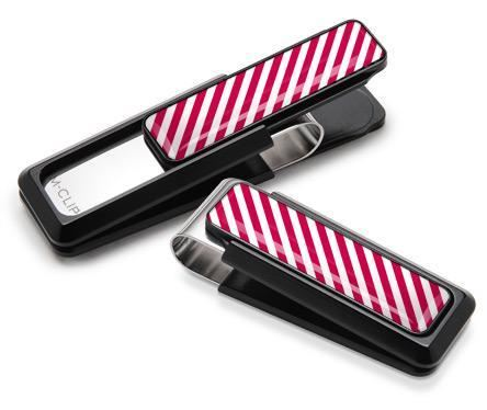 M-Clip Black UV2 w/White & Red Money Clip
