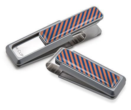 M-Clip Natural UV2 w/Orange & Blue Money Clip