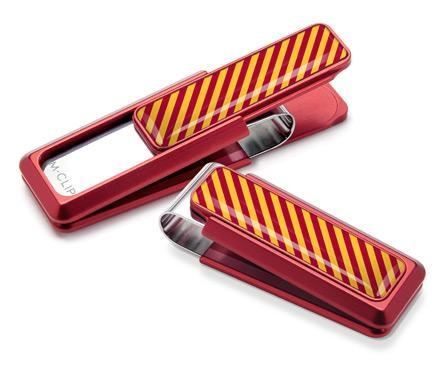 M-Clip Red UV2 w/Crimson & Yellow Money Clip
