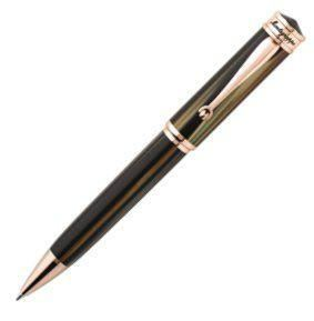 Montegrappa Ducale Ballpen. Rose & Brown