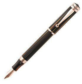 Montegrappa Ducale Fountain Pen, Rose & Brown