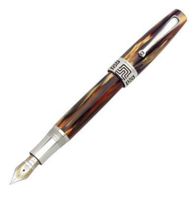 Montegrappa Extra 1930 Turtle Brown Celluloid Fountain Pen