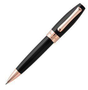 Montegrappa Fortuna Ballpoint Rose Gold Trim - Pens