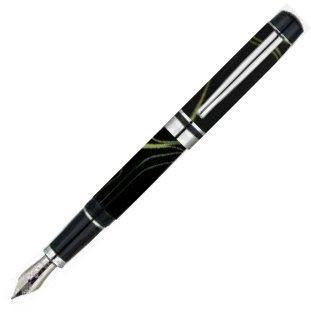 Monteverde Prima Black Swirl Fountain Pen