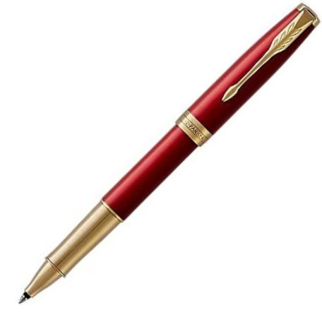 Parker Sonnet Red Lacquer GT Premium Rollerball Pen