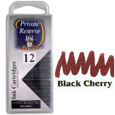 Private Reserve Black Cherry Ink Cartridges