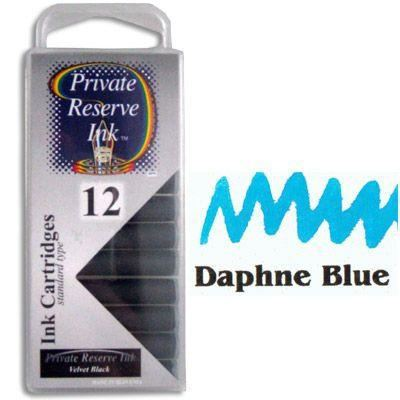 Private Reserve Daphne Blue Ink Cartridges