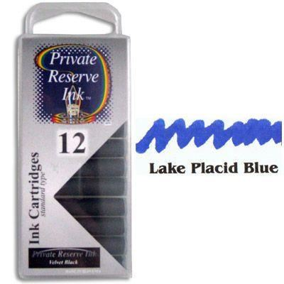 Private Reserve Lake Placid Blue Ink Cartridges