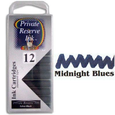 Private Reserve Midnight Blues Ink Cartridges