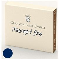 Refill Faber-Castell Midnight Blue Ink Cartridges