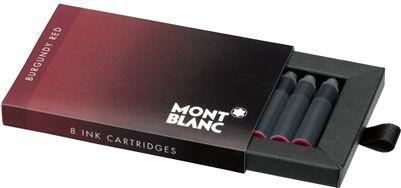 Refill Montblanc Burgundy Ink Cartridges