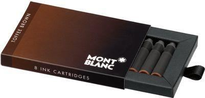 Refill Montblanc Toffee Brown Ink Cartridges