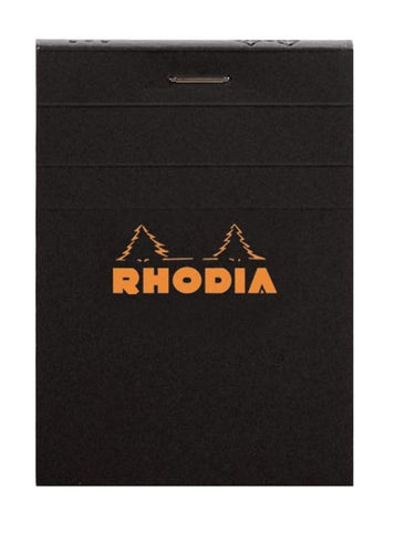 Rhodia - Classic Notepads Top Staplebound 3 x 4 Graph Black 80 sheets