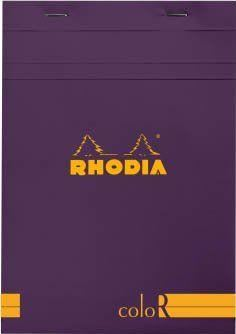 Rhodia - Color N 16 Violet Lined