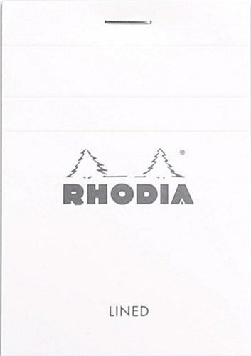 Rhodia - Ice Notepad Top Staplebound 3 x 4 Lined 80 sheets