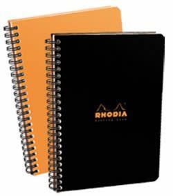 Rhodia - Meeting Black 6 1/2