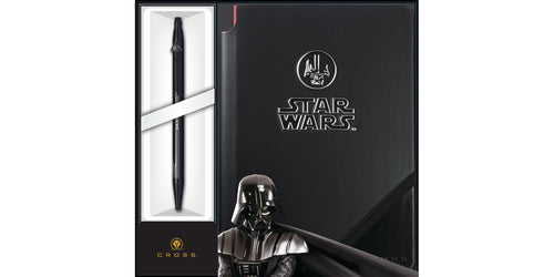 Cross Click Star Wars Darth Vader w/Jotzone Journal & Selectip Gel Rollerball Pen Set