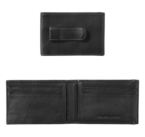 Two Fold Money Clip Wallet