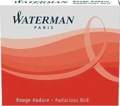 Waterman Audacious Red Mini Lady Ink Cartridges