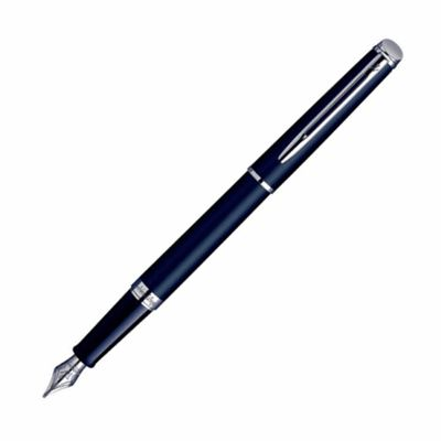 Waterman Hemisphere Matte Black & Chrome Fountain Pen