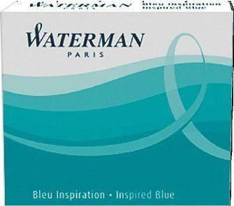Waterman Inspiration Blue Mini Lady Ink Cartridges