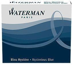 Waterman Mysterious Blue Ink Cartridges | Pen Store | Pen Place