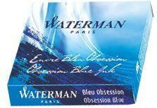 Waterman Obsession Blue Mini Lady Ink Cartridges