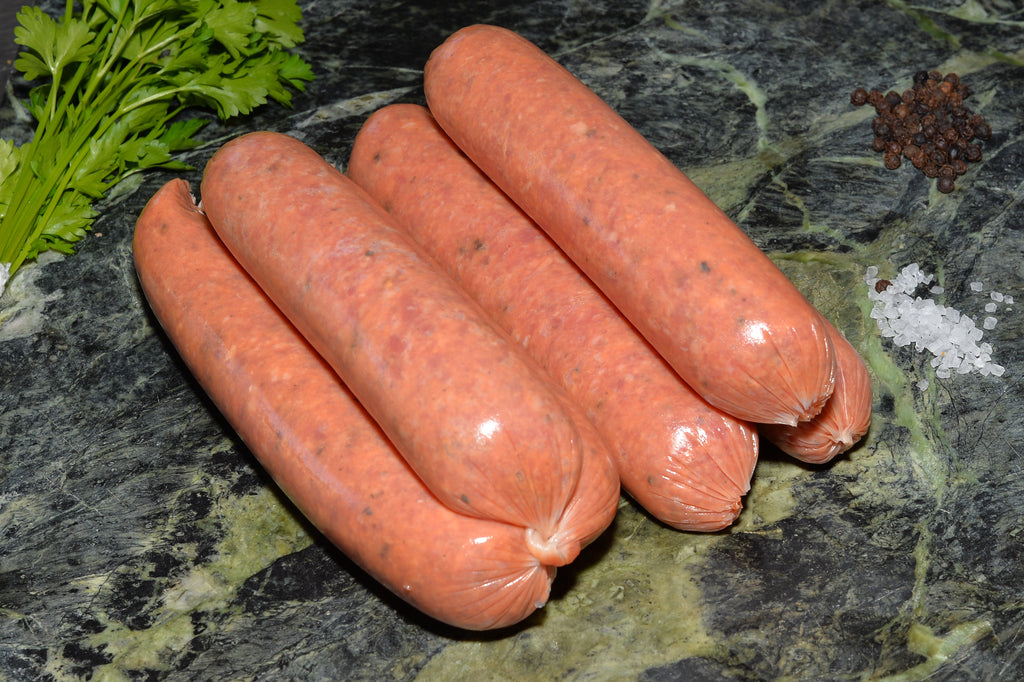 Cracked Pepper and Worcestershire Sausages