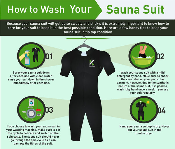 How to wash your sauna suit
